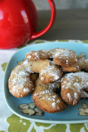 Almond Rosewater Cookies
