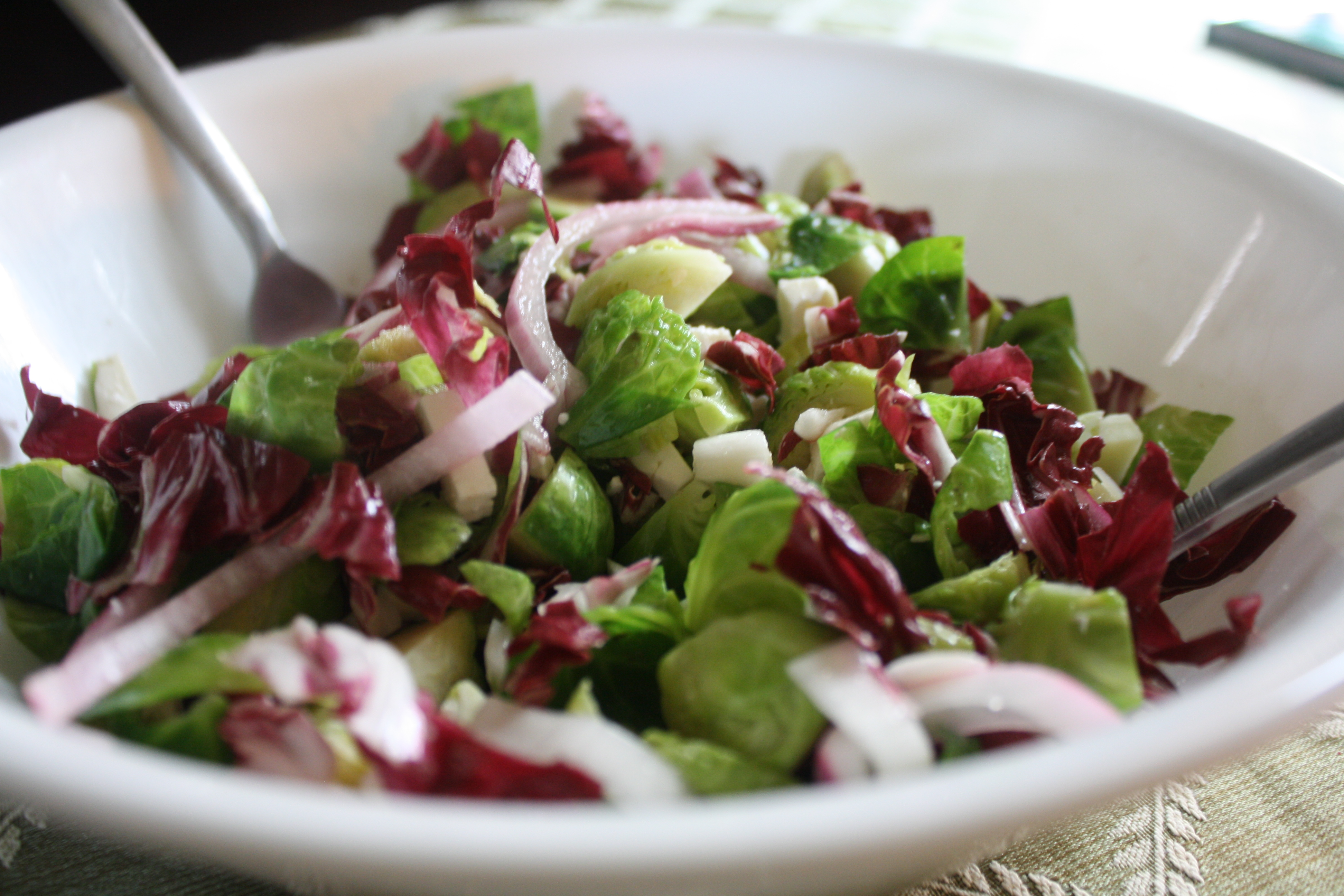 Brussels Sprout Salad Recipe — Dishmaps