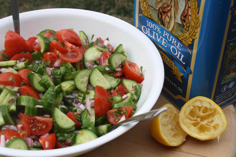 Mezze: Tomato and Cucumber Salad | Mezze & Dolce